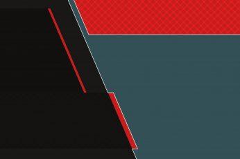 Minimalist wallpaper, minimalism, abstract, hd, 4k, digital art, red