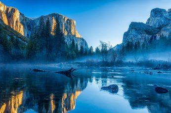 Body of water, Yosemite National Park, USA, Yosemite Valley, California
