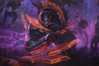 PROJECT wallpaper, Pyke (league of Legends), futuristic, skin, robot