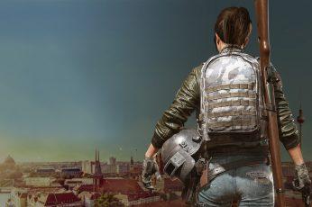 Pubg wallpaper, playerunknowns battlegrounds, 2018 games, hd, 4k, gun