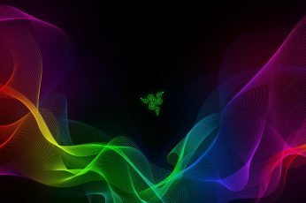Razer wallpaper, PC gaming, colorful, logo, Razer Inc., abstract, multi colored
