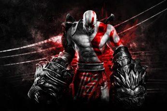 Video games god of war god of war 2 god of war 3 god of war 4 kratos god of war ascension god of wa Video Games Kratos HD Art