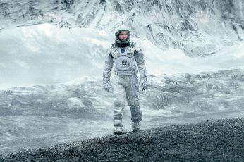 4K, Interstellar, Matthew McConaughey, Astronaut