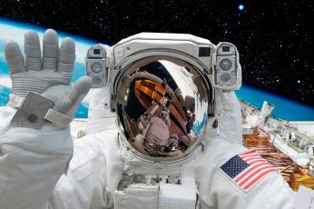 Astronaut, space, earth, NASA, international space station