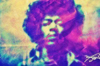 Singers wallpaper, Jimi Hendrix, Hippie, Psychedelic, Trippy