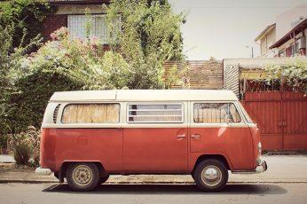 Camper wallpaper, van, bus, hippie, camping, retro, auto, vehicle, volkswagen