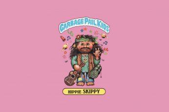 Comics wallpaper, Garbage Pail Kids, Hippie Skippy