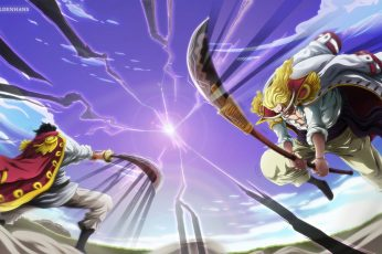 One Piece wallpaper, Edward Newgate, Gol D. Roger