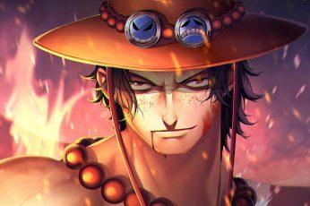 Anime wallpaper, One Piece, Portgas D. Ace