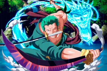 One Piece wallpaper, Roronoa Zoro