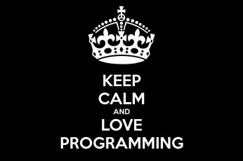 Keep calm, coder, programming, quote, javascript, black, dark