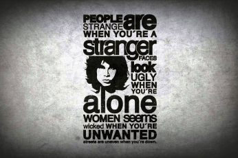 People Are Strange, Jim Morrison