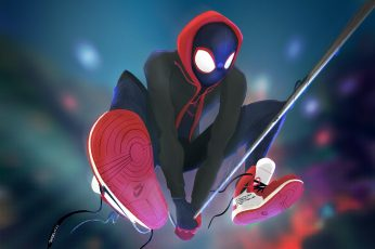 Figure, Web, Costume, Hero, Mask, Hood, Superhero, Art, Fiction