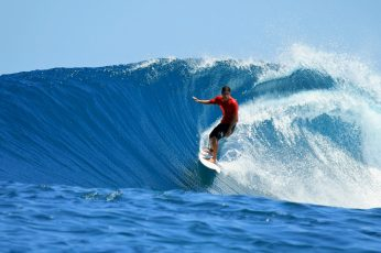 Surfing HD, white surf board, sports