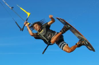 Kitesurf, kiteboarding, kitesurfing, wind, sea, sport, water