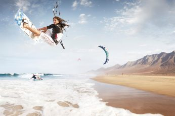 Sports, Kitesurfing