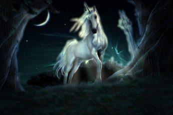 Fantasy Animals wallpaper, Unicorn