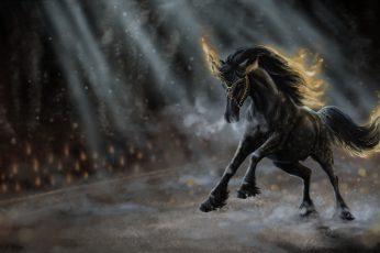 Fantasy Animals, Unicorn, animal themes, anger, animal wildlife