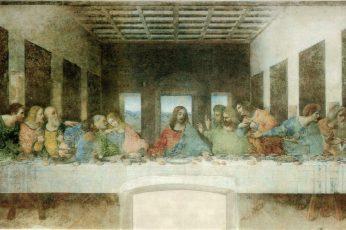 The Last Supper painting wallpaper, Leonardo da Vinci, Jesus Christ, classic art