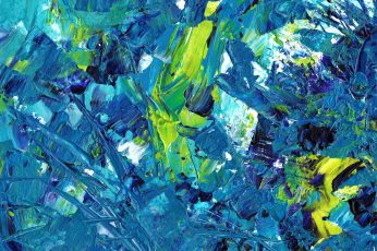 Multicolored abstract painting wallpaper, acrylic, primer, stains, full frame