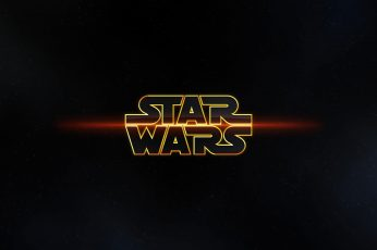 Star Wars logo wallpaper, movies, science fiction, typography, neon, illuminated
