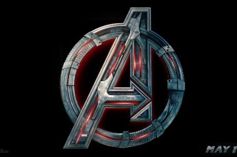 Avenger logo wallpaper, The Avengers, Avengers: Age of Ultron