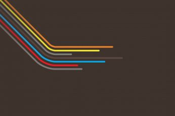 Multicolored wallpaper, abstract, simple, minimalism, lines, brown background