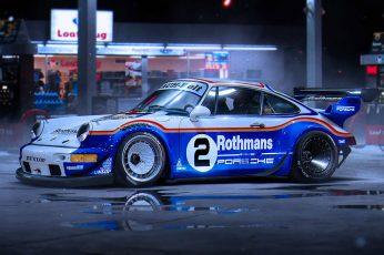 911 wallpaper, Porsche, Car, Race, RWB, by Khyzyl Saleem, Rothmans