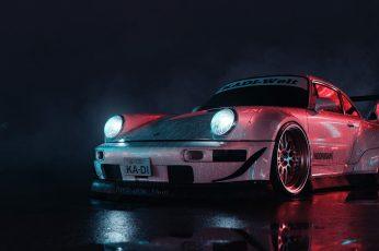 Car wallpaper, Porsche, dark, vehicle, Porsche 911