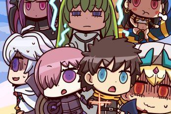 Fate Series wallpaper, FGO, Fate/Grand Order, anime girls, anime boys