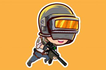 Video Game, PlayerUnknown's Battlegrounds, Chibi wallpaper