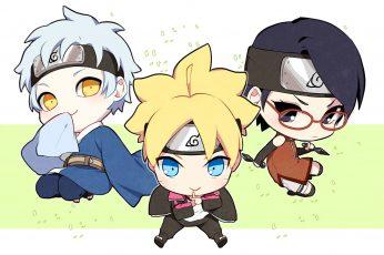 Boruto chibi wallpaper, Anime, Boruto Uzumaki, Mitsuki (Naruto)