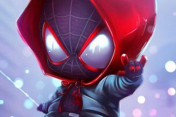 Spider-Man Chibi wallpaper, Marvel Comics