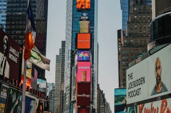 New York Time Square wallpaper, town, building, city, downtown, urban, metropolis