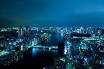 City wallpaper buildings light during night time, tokyo, tokyo, cityscape