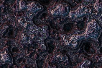 3D fractal wallpaper, digital art, abstract, artwork