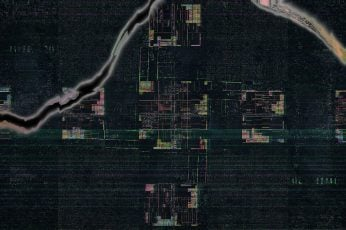 Glitch art wallpaper, LSD, abstract, architecture, built structure
