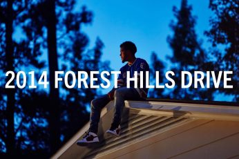 2014 Forest Hills Drive wallpaper, hip hop, J. Cole, text, one person, communication