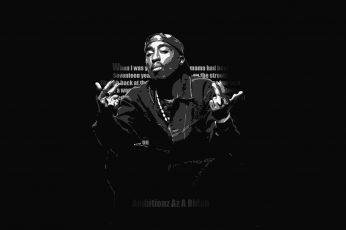 Gangsta wallpaper, hip, hop, rap, rapper, tupac