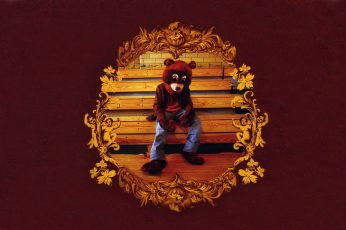 Hip hop wallpaper, Kanye West, The College Dropout