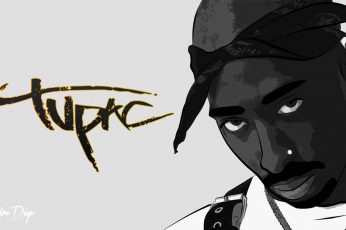 2Pac wallpaper, hip hop, Makaveli, art and craft, text, creativity, sky