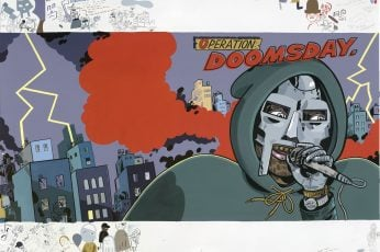 MF DOOM wallpaper, music, hip hop, mask, album covers, representation