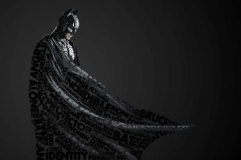 DC Batman wallpaper, text, monochrome, artwork, DC Comics, quote