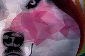Wolf wallpaper, fantasy art, animals, fan art