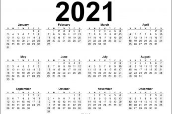 2021 calendar hd images download