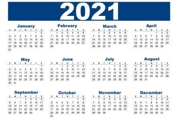 Desktop wallpaper 2021 calendar