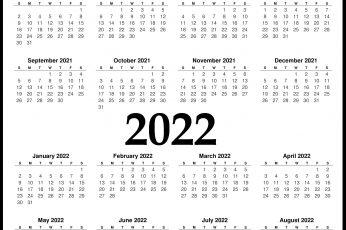 calendar 2021-2022 wallpaper