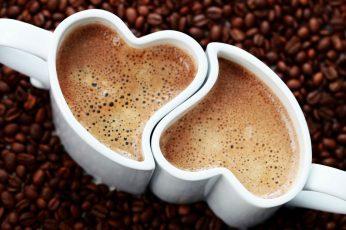 Ceramic coffee mugs wallpaper, drink, coffee beans, coffee – drink