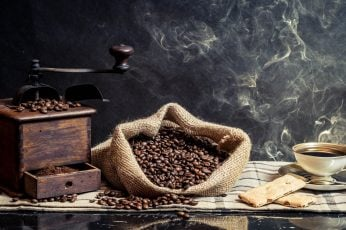 Coffee beans, Cup, food and drink, roasted coffee bean, freshness