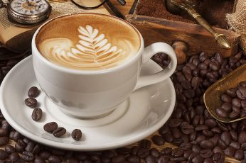 Coffee bean lot wallpaper, coffee beans, food and drink